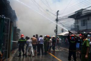 7 hộ dân bị cháy nhà giữa trưa được nhận bao nhiêu tiền?