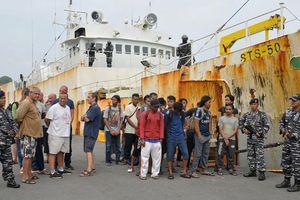Indonesia bắt 'tàu nô lệ' bị Interpol truy nã