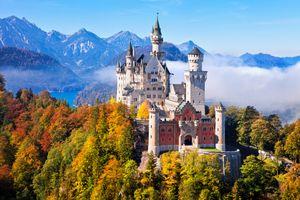 Lâu đài 'Người đẹp ngủ trong rừng' ngoài đời thực