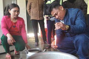 Giám đốc Sở KH&CN Hà Tĩnh nói gì về việc giếng nước có dầu?