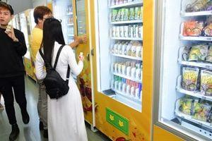 Hà Nội sắp có chuỗi cửa hàng tự động không người bán