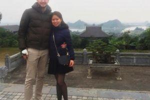 Phát hờn với chuyện tình ngọt ngào của cô gái Việt'mét rưỡi' với chàng trai Úc cao gần...2m