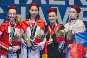 Hồ Thị Kim Ngân giành HCV giải taekwondo trẻ thế giới