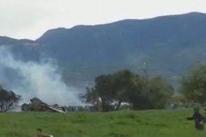 Rơi máy bay quân sự tại Algeria, hơn 250 người thiệt mạng