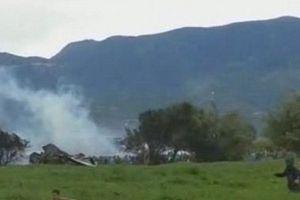 Ảnh hiện trường vụ rơi máy bay quân sự Algeria khiến 200 người chết