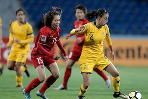 VCK Asian Cup nữ 2018: Việt Nam - Australia: 0-8