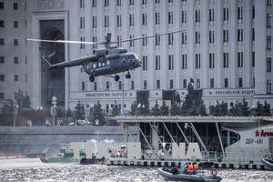 Rơi trực thăng ở Nga, không ai sống sót