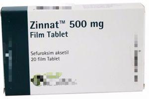 Hà Nội: Phát hiện thuốc kháng sinh Zinnat 500 mg Film Tablet giả