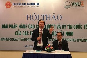 Xếp hạng các trường ĐH của Việt Nam: Nên theo tổ chức quốc tế nào?