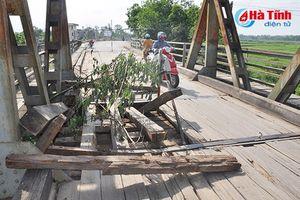 Đề nghị cấp 1,5 tỷ đồng sửa chữa cầu Lộc Yên