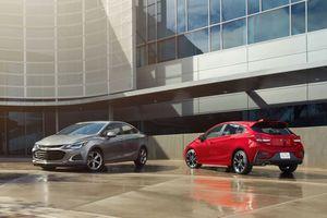 Chevrolet Cruze 2019 lột xác hoàn toàn với phiên bản thể thao RS