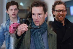 'Nhện teen' 21 tuổi cùng 2 quý ông Loki và Doctor Strange gây náo loạn sân bay Hàn