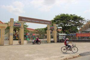 Toàn cảnh Trường TH Bình Chánh trong ngày thay đổi lãnh đạo