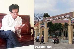Vụ 'cô giáo quỳ' ở Long An: Hiệu trưởng xuống làm giáo viên