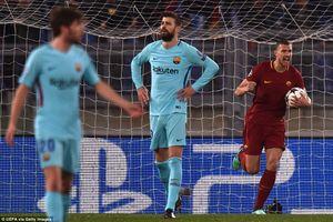 Ngược dòng lịch sử, Roma hạ Barca để bước vào bán kết Champions League