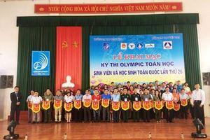 Hơn 1.000 thí sinh tham gia kỳ thi Olympic Toán học toàn quốc lần thứ 26
