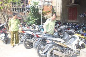 Nghệ An: Bắt giữ hàng chục xe máy không có giấy tờ hợp lệ