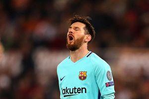 Thua AS Roma 0-3, Barca dừng bước ở Champions League