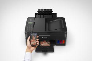 Máy in Pixma G Series: Kết nối điện thoại, in ảnh trong một phút
