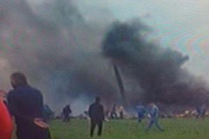 257 người chết trong vụ máy bay quân sự rơi ở Algeria