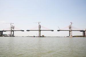 Cầu Bạch Đằng sẽ hợp long vào cuối tháng 4/2018