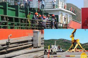 3 thuyền viên chết ngạt khí gas dưới hầm tàu ở Bình Định