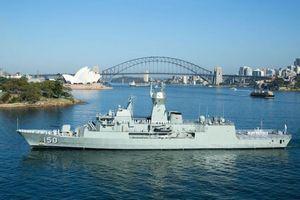 Tàu Hải quân Hoàng gia Australia sắp ghé thăm Việt Nam
