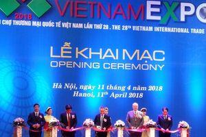 Khai mạc Hội chợ Thương mại Quốc tế Việt Nam lần thứ 28
