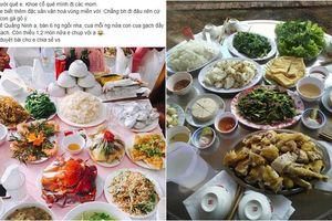 Gái Quảng Ninh khoe cỗ cưới toàn hải sản sang chảnh, dân tình 'rần rần'xem cỗ cưới đoán quê