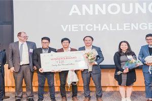 Dự án VIoT chiến thắng cuộc thi khởi nghiệp cho người Việt toàn cầu