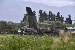 Algeria: 257 người thiệt mạng trong vụ tai nạn máy bay quân sự