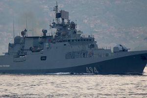 11 tàu chiến Nga rời cảng ở Syria?