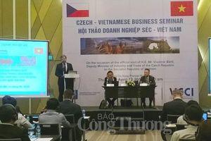 Đẩy mạnh hợp tác kinh tế giữa các doanh nghiệp Việt Nam - Czech