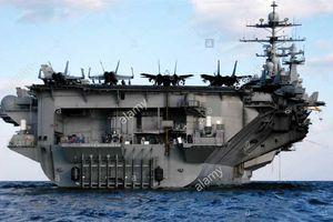 Tàu chiến 'chết chóc' Mỹ có thể dùng đánh Syria