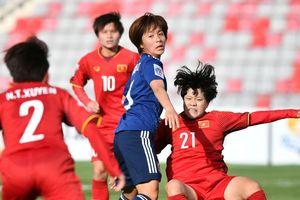 Cúp bóng đá nữ châu Á: Đội Việt Nam dốc toàn lực trong trận thứ 3