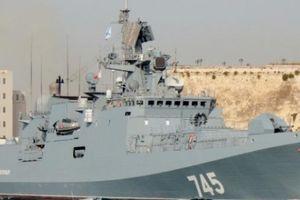 11 tàu chiến Nga bất ngờ rời cảng Syria: Đòn dằn mặt Mỹ?