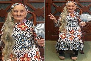 Dân mạng rộ lên trào lưu khoe ảnh bà ngoại 'xì tin' hết mình
