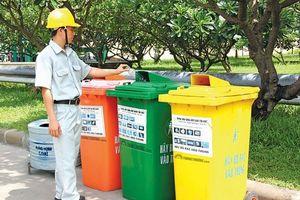 Gian nan phân loại rác thải tại nguồn