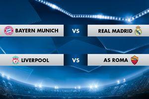Bayern đại chiến Real tại Champions League, Arsenal đụng độ Atletico tại Europa League