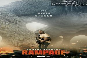 RamPage: Tiếp tục là một sản phẩm xuất sắc của Dwayne Johnson