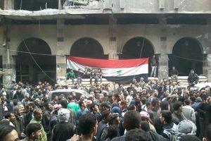Quân đội Syria thượng cờ chiến thắng tại tử địa Đông Ghouta