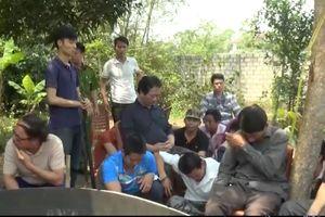 Nghệ An: Hàng chục chiến sĩ công an bí mật 'đột kích' sới gà tóm gọn 52 đối tượng