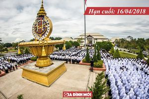 Học bổng toàn phần gần 1,4 tỷ đồng du học Thái Lan