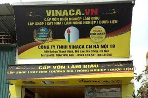 Hà Nội: Niêm phong 8 loại sản phẩm hỗ trợ điều trị ung thư của Vinaca