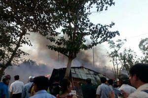 Khẩn cấp hỗ trợ giáo viên và học sinh bị hỏa hoạn