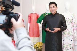Sao Việt nô nức trào lưu Tết Việt mặc áo dài