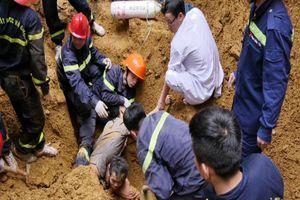 Vụ sạt lở đất, 3 người chết ở Lào Cai: Xác định danh tính nạn nhân