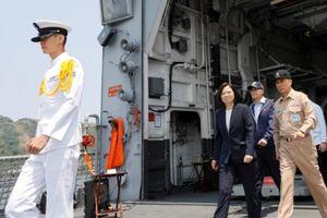 Sau Trung Quốc đại lục, đến lượt Đài Loan tập trận hải quân