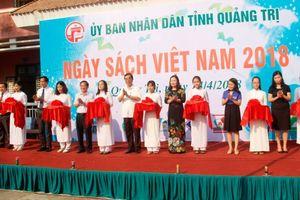 Quảng Trị tưng bừng khai mạc Ngày sách Việt Nam 2018