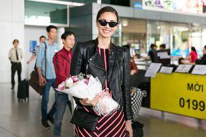 Hoa hậu Thế giới 2013 Megan Young cười tươi như hoa khi đến Việt Nam